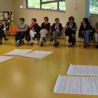 Plenum zum Abchluß der Frauenversammlung