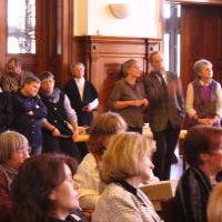 Kostbare Begegnungen - Empfang nach dem Gottesdienst im Hallenser Stadthaus
