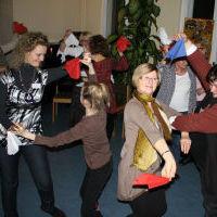 Weimar WGT-Vorbereitung Cueca tanzen 15.1.11