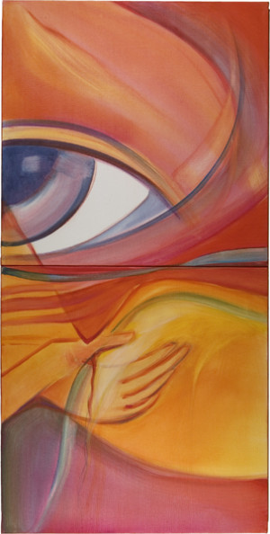 Berührungsklänge Auge rechts