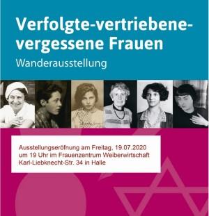 2021_Ausstellung Verfolgte – vertriebene – vergessene Frauen