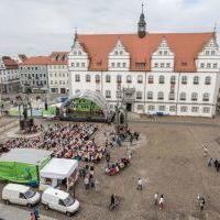 FrauenFestMahl auf dem Wittenberger Markt