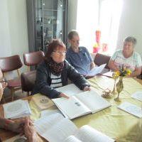 Frauensonntag in Wernburg, KKr Schleiz